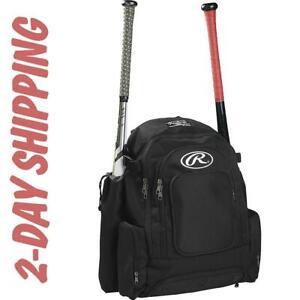 RAWLINGS COMRADE BAG X-Wide 4 Bat Baseball Softball Backpack >2.DAY SHIPPING
