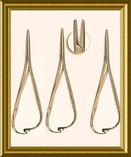"""3 Mathieu Plier 5.50"""" Orthodontic Surgical Dental Instruments New"""
