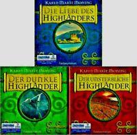 Karen Marie Moning - Highlander TRILOGIE 30 CD + 4 MP3-CD NEU Hörbuch CDs