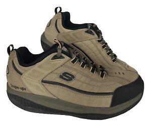 Skechers Shape Ups XT Rocker Shoes Mens Size US 9.5 Pebble Tan Extended Training