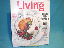 Martha Stewart Living July/August 2016 I Love With Summer Free Shipping