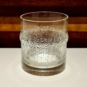 Tapio Wirkkala for Iittala, Finland Niva Whisky Glass - Mid-Century Tumbler