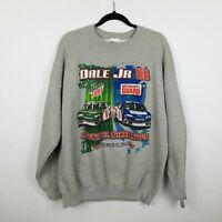 Dale Earnhardt Jr. 2007 Chase Authentics 2-sided Graphic Mens Sweatshirt Sz XL