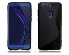 Fundas y carcasas transparentes Huawei color principal negro para teléfonos móviles y PDAs