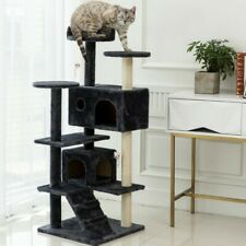 New listing Cat Tree Tower Condo Furniture Scratch Post Tree Kitty Play House Plush Perches