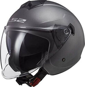 Casco LS2 Helmet Twister II OF573 - Matt Titanium
