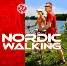 CD Musik für Nordic Walking von Diverse Interpreten   3CDs