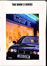 Ridotto BMW 3 SERIES - 316i, 318i, 320i se e 325i se. E36 BROCHURE AUTO 1992