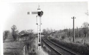 Rail Photo K&ESR Home signal nr Bodiam station Kent northiam