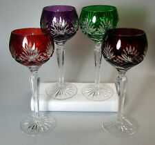 Fifth Avenue Fif3 Cut To Clear Hock Wines, 4 Colors Available - Multiple Pieces