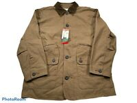Orvis M Men's Tobacco Brown Barn Jacket Corduroy Collar Medium NEW NWT