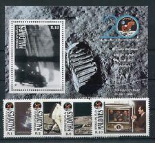 Malediven 1380/83 Block 160 postfrisch / Weltraum ........................1/3785