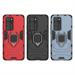 For Huawei P20 P30 P40 Lite Mate 30 Shockproof Armor Ring Stand Hard Case Cover