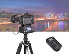360° Wireless Automatic Panoramic Tripod Head + Remote for DSLR DV Gopro Video