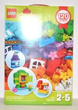 1 LEGO DUPLO Creative Box 120 Pieces with 39 Colors NEW IN BOX 10854