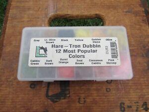 Hareline Dubbin Hare Tron Dubbin 12 Popular Colors Fly Tying Materials