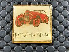 PINS PIN BADGE CAR CLUB RONCHAMP 91