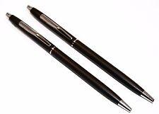 Classic Black and Chrome Police Uniform Pens