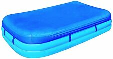Abdeckplane für Planschbecken für Jumbo-Pools ca. 305 x 183 cm (58108) blau