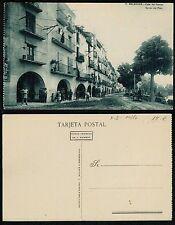 Tarjeta Postal. 11. Balaguer (Lérida). Calle del Puente.
