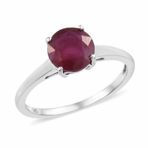Beautiful 2.0ct AA African Ruby Solitaire set in 9k Gold  BNWT #M