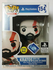 Funko POP Games Playstation God Of War Kratos Wit Blades Of Chaos #154 Exclusive
