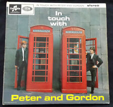 """IN TOUCH WITH PETER AND GORDON"" ORIGINAL UK 1964 1st PRESS LP SCX-3532 RARE"