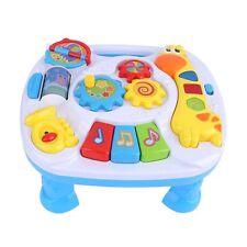 Baby Spieltisch Musikalisches Spielzenter Babyspielzeug blau EX