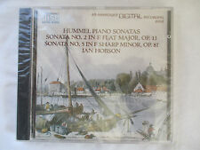 HUMMEL PIANO SONATAS VOLUME II 2 - IAN HOBSON CD - BRAND NEW CD