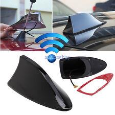 Black Car Shark Fin Universal Roof Tail Antenna Radio FM/AM Decorate Aerial