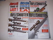 RIFLESHOOTER Magazine, LOT OF 5, 2015, SAVAGE AXIS XP, MOSSBERG PATRIOT, CZ 557!