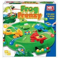 Frog frenesí Juego De Mesa Niños Niños Juguete Regalo Juego Family Fun 4 jugadores atrapar em