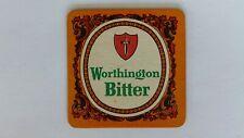 Worthington Bitter Beer Mat Beer Coaster