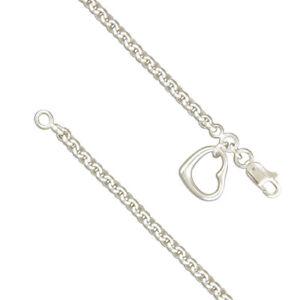Silver  Belcher /  Heart - Bracelet