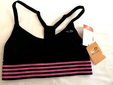NWT Women's Champion Sports Bra-XS -Black/Pink-Medium Support
