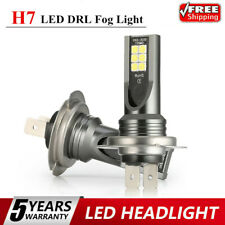 2x H7 LED Headlight Kits 110W 20000LM FOG Light Bulbs 6000K Driving DRL Lamp USA