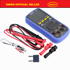 OWON B35T+ multimeter True RMS measurement Bluetooth BLE 4.0 Android offline rec
