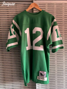 Authentic Mitchell And & Ness Joe Namath New York Jets American Football Jersey