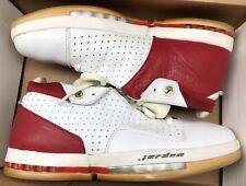 2001 Jordan Retro XVI 16 Low Varsity Red Black White 136069-101 Sz 10.5