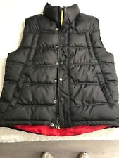 Jordan Craig Black Pupper Vest Jacket Size Large