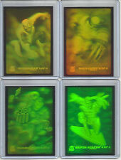 "1994 Marvel Universe (Fleer) HOLOGRAM ""Complete Set"" of 4 Chase Cards (1-4)"