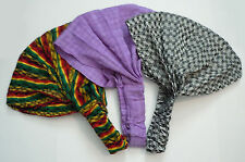Guatemalan HEADBAND 3 Pack - Hand Made Yoga Head Band Colorful Rasta Lot BL3