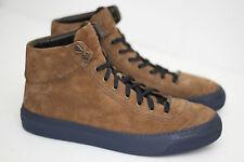 Jimmy Choo 'Argyle' High Top Sneakers - Brown Suede - Size 45EU / 12US (Y18)