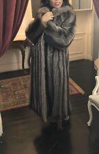 Real Genuine Mink Fur Coat  Size M
