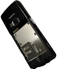 Neu:Nokia 6300 Mittelcover Gehäuse Schwarz Back Middle B-Cover Mittelgehäuse