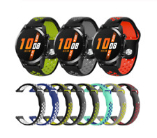 For Huawei Watch GT 2 42mm Silicone Sports Strap Breathable Band