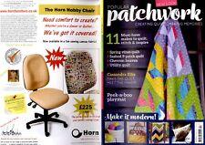 Revista Patchwork populares 2017 de abril-Cassandra Ellis, Primavera Vides Edredón