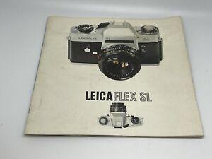 LEITZ LEICAFLEX SL SALES BROCHURE