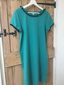 Boden green jersey dress size 12R