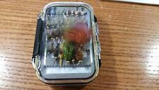 Grab Bag - 24 Preselected Fly Assortment & Fly Box - Trout, Panfish, Crappie